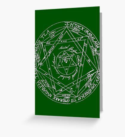 Key of Solomon Greeting Card