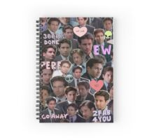ew fox mulder Spiral Notebook