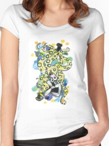Blue Ringed Octopus Women's Fitted Scoop T-Shirt