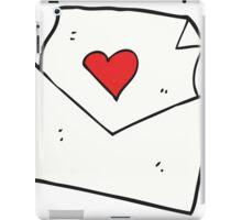 cartoon love letter iPad Case/Skin