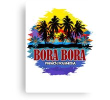 Bora Bora Good Time Canvas Print