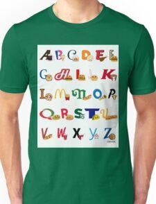 Fast Food Alphabet T-Shirt