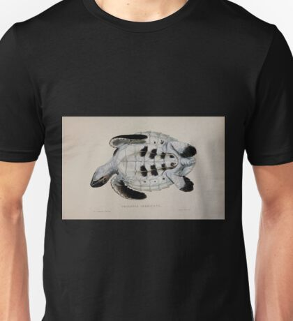 Tortoises terrapins and turtles drawn from life by James de Carle Sowerby and Edward Lear 058 Unisex T-Shirt