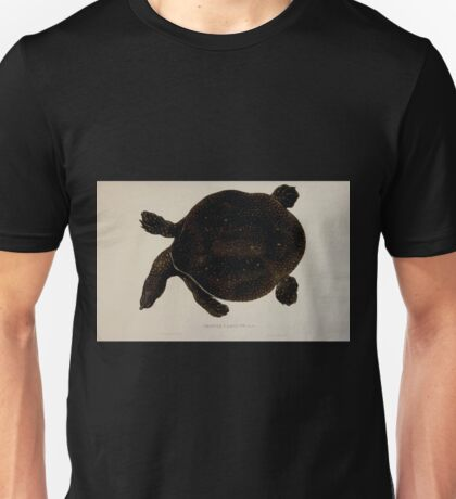 Tortoises terrapins and turtles drawn from life by James de Carle Sowerby and Edward Lear 016 Unisex T-Shirt