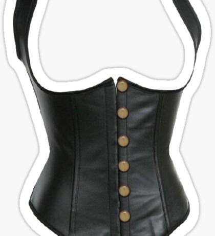 Leather Corset Sticker