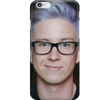 Tyler Oakley Blue Hair iPhone Case/Skin