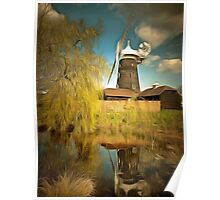 Wray Common Windmill Reigate Poster