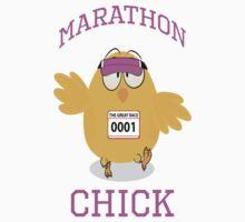 Marathon Chick Kids Tee