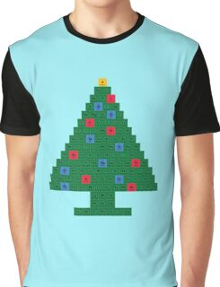 Chemistry Christmas Tree Periodic Table Graphic T-Shirt