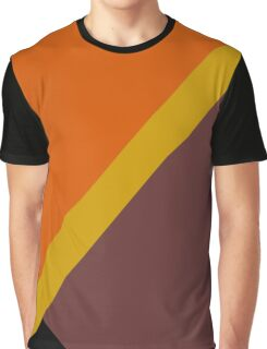 Autumn Colored Design Graphic T-Shirt