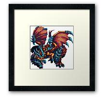 Dragon Ballz Framed Print