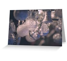 Christmas decoration Greeting Card