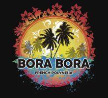 Bora Bora Sunset Style by 3vanjava