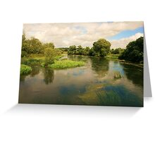 Stour View Greeting Card