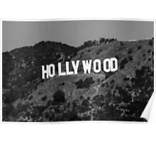Hollywood B&W #1 Poster