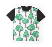 Mini Tree Collage Graphic T-Shirt