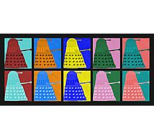 Pop art Daleks - variant 1 Photographic Print