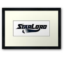 StarLord Framed Print