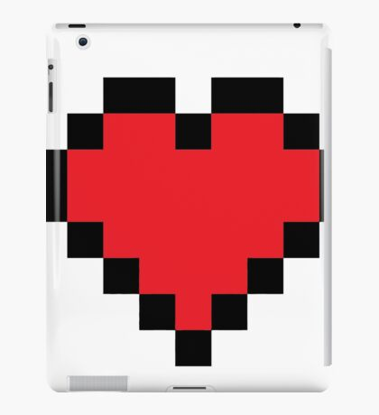 8bit love 8 bit iPad Case/Skin