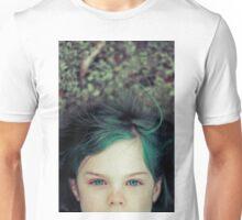 Green Haired Girl Unisex T-Shirt