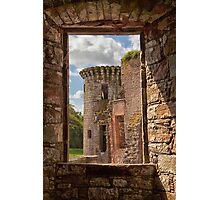 Caerlaverock Castle Photographic Print