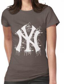 yankee splatter Womens Fitted T-Shirt