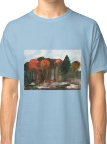 Morning Mist on the Forest Floor Classic T-Shirt