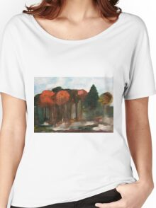 Morning Mist on the Forest Floor Women's Relaxed Fit T-Shirt