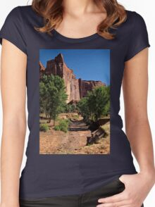 Beauty in the Canyon Women's Fitted Scoop T-Shirt