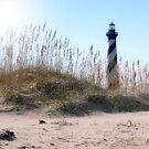 Cape Hatteras Lighthouse of NC by Sandy Woolard