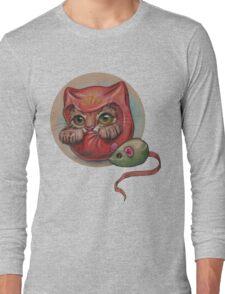 Daruma Cat  Long Sleeve T-Shirt