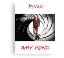 Pond, Amy Pond Metal Print
