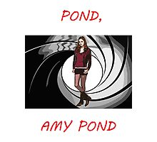 Pond, Amy Pond Photographic Print