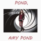 Pond, Amy Pond by DarkCrow
