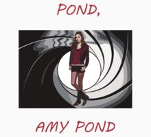 Pond, Amy Pond Kids Tee