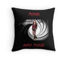 Pond, Amy Pond Throw Pillow