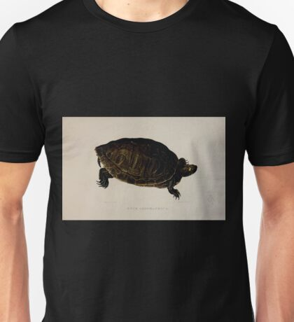 Tortoises terrapins and turtles drawn from life by James de Carle Sowerby and Edward Lear 038 Unisex T-Shirt