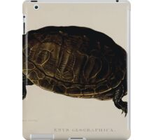 Tortoises terrapins and turtles drawn from life by James de Carle Sowerby and Edward Lear 038 iPad Case/Skin