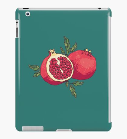 Pair of pomegranates iPad Case/Skin