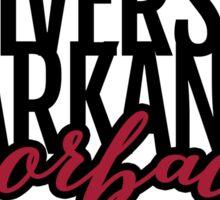 University of Arkansas Razorbacks Sticker