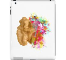 I create - The right side of the brain iPad Case/Skin