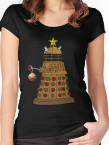 A Dalek Tree Women's Fitted Scoop T-Shirt