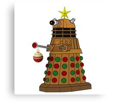 A Dalek Tree Canvas Print