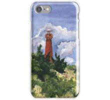 Barnegat Light in Watercolor iPhone Case/Skin