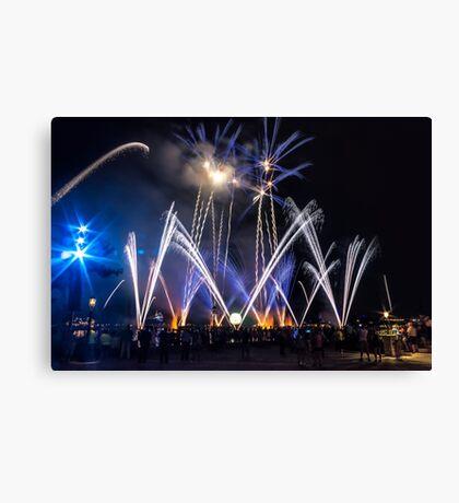 Illuminations at Epcot Canvas Print
