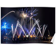 Illuminations at Epcot Poster