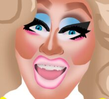 "Trixie Mattel ""Maybe She's Born With It, Maybe It's Clinical Depression"" Sticker"