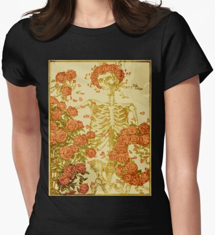 Memento Mori Womens Fitted T-Shirt