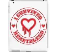 I Survived Heartbleed iPad Case/Skin