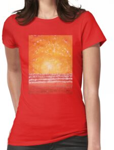 Morning Surf original painting Womens Fitted T-Shirt